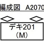 [玩具共和國] MA A2070 秩父鉄道 デキ200 青