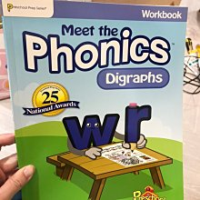 全新 meet the phonics digraphs 小朋友 英文學習書 EEE