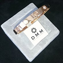 DMM 流星鑽 莫桑石/GIA 鑽石 珠寶 摩星鑽 線戒  高碳鑽 精品名牌 Moissanite 客製化 18k金 租借(cartier 手環玫瑰金)