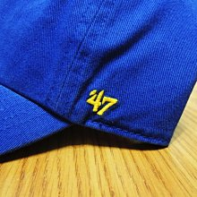 【Your Store】美牌 47Brand Warriors 勇士隊 Clean Up 隊徽 老帽 藍色