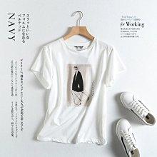 BEEE時尚精品 西班牙單  非常時尚!人物萊賽爾棉 舒服親膚 精梳棉圓領短袖T恤