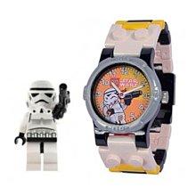 【公司貨・原價880,限殺200】LEGO 樂高手錶 星戰Storm Trooper AFD106 錶帶可拆  防水