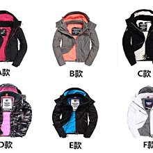 防偽可掃 送手提袋 極度乾燥 Superdry 鋪棉 三拉鍊 基本款外套 情侶款 防風保暖 防潑水 迷彩 刷毛防風外套