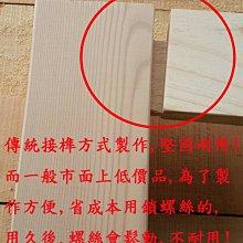 【南台灣傢俱】6尺100%全實木檜木雙人床架.床台***市價$20000元,特價$14900元全省免運費