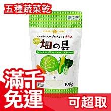 日本進口 Hikari miso 畑的具五種蔬菜乾 190g 泡麵 乾燥蔬菜  ❤JP