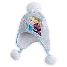 Ginny媽咪【Disneystore】全新正品官網購回 Frozen 冰雪奇緣女童針織遮耳帽 54cm只有一頂現貨