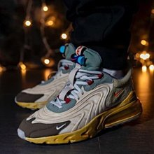 【美國鞋校】預購 Nike AirMax270 React ENG Travis Scott Cactus Trails