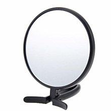 [霜兔小舖]日本代購 Yamamura  旅遊外出  手持/直立  十倍雙面化妝鏡   高倍率放大