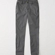 Maple麋鹿小舖 Abercrombie&Fitch * AF 深灰色休閒長褲 * ( 現貨26號 )