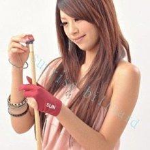 ☆Sunrise Billiard☆【高級三指撞球手套 (進口萊卡伸縮布製)紅藍黑三色,做工細緻】 撞球桿 溜溜球