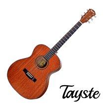 Tayste TS-22-40 桃花心木 合板 40吋 民謠吉他 - 【他,在旅行】