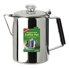 丹大戶外【Coghlans】加拿大 COFFEE POT 不鏽鋼咖啡壺 9杯 1340