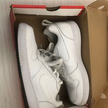 NIKE COURT BOROUGH LOW 838937-111 Size: 9.5_九成新