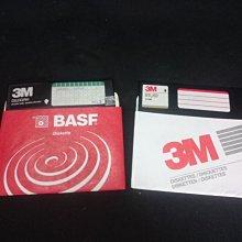 懷舊 復古 早期 5.25吋 2片 3M片 LOTUS 合標 大型磁片 MD 軟碟 可參考