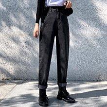 促銷全場九五折 秋冬裝年新款大碼女裝秋款時尚氣質女褲胖妹妹顯瘦牛仔褲爆款