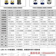 【日韓株式會社】[上新優惠]LZB-40 LZB-40F玻璃轉子流量計 玻璃管浮子流量計 氣體流量計【國際】