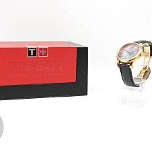 【高雄青蘋果3C】Tissot T41641363 30M防水 玫瑰金色調不銹鋼錶殼 自動機芯  二手手錶#63825