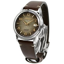 SEIKO SARY183 SRPF43J1 精工錶 39mm 機械錶 調酒師 焙茶咖啡色面盤 皮錶帶 限量錶 男錶女錶