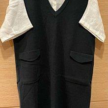 全新 韓 兩件式套裝 白襯衫+背心裙