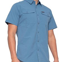 Columbia 短袖襯衫【L】【XL】戶外 登山 Omni-Shade UPF 50 淺藍 XM0829 全新 現貨