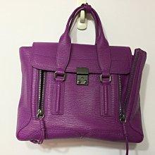 降價二手出清~3.1 Phillip Lim Medium Pashli中款手提/側背包--紫羅蘭