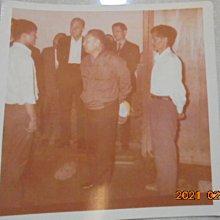 早期懷舊蔣經國總統謝東閔照片1張*牛哥哥二手藏書