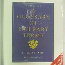 【月界】Glossary of Literary Terms-8/e(絕版)_M. H. Abrams〖大學文學〗AGN