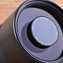 【台中品光攝影】CONTAX Carl Zeiss T* Mirotar 500mm F8 反射鏡 日製 #30839J