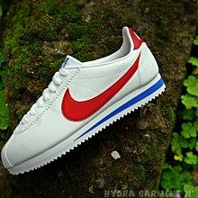 【HYDRA】 Wmns Nike Cortez Basic 白阿甘 白紅藍 紅勾 復刻 【807471-103】