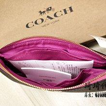 國內現貨 限量特惠 coach 58695皮夾 零錢包 手拿包 拉鍊錢夾 女士錢包 包包 女夾 現貨
