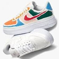 【美國鞋校】預購 Nike Air Force 1 LX Tear Away Red Swoosh (W) 紅勾
