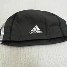 【n0900台灣健立最便宜】2021ADIDAS  PU 防水合成泳帽 F49116 PU 泳帽  戴著這款貼服的泳帽,