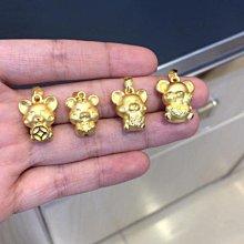 黃金生肖墜子 價格:洽詢   Pure Gold Pendant Price:PM