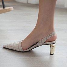 DANDT  鱷魚紋一字後絆尖頭涼鞋 (MAR 26 S1122) 同風格請在賣場搜尋 REG 或 歐美鞋款
