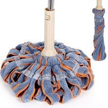 捷潔棉線拖把家用免手洗纖維墩布客廳普通可拆卸老式吸水拖把墩布yi   全館免運