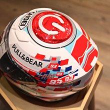 已售出 日本製 SHOEI Z-7 MARQUEZ POWER UP! TC-1 Z7 彩繪 全罩式安全帽 XL號