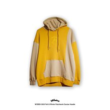 WODEN 2020 FALL & WINTER PATCHWORK CACTUS HOODIE 黃色款