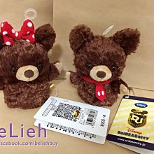 《日本迪士尼商店 現貨》 大學熊專用手偶娃娃,賣 摩卡款 / 布丁款