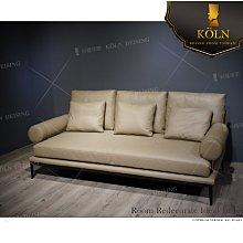【爵品精品傢俬】MF-S3-125 復刻 B&B 造型牛皮沙發,可訂製布藝或PVC沙發,布料、皮料顔色可選、尺寸可訂製
