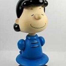 全新含盒SNOOPY史努比 美國 西島WESTLAND8154 LUCY 搖頭娃娃 小雕像 絕版品