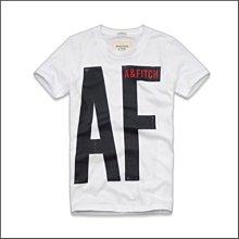 美國AMPM 【現貨 #T6】AF / A&F  Gill Brook Tee 男版AF字樣短T/ L號