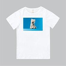 T365 MIT 親子 童裝 情侶 T恤 短T 狗 DOG 西高地白㹴 西莎 West Highland White