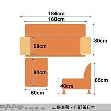 【HAPPY傢俱】918(P)-3L型 小資生活多變換獨立筒小L型沙發-8499元/買就送巧克力鈕扣抱枕*2