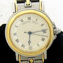 順利當舖  Breguet/寶璣  原裝18K半金航海家系列男女通用自動錶