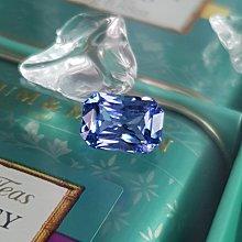 揚邵一品 漂亮!(附雙證書)3.28克拉 無燒天然矢車菊藍寶石 大克拉數 大方貴氣 濃豔靛藍色火彩 質地清澈 超閃耀迷