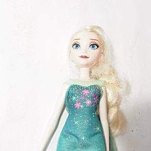二手,原廠 Hasbro 冰雪奇緣艾莎公主 娃娃 玩偶