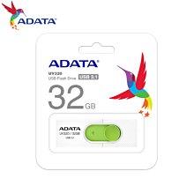 [原廠保固] UV320 清新白/綠 32GB USB3.1 伸縮接頭 高速隨身碟 (AD-UV320W-32G)
