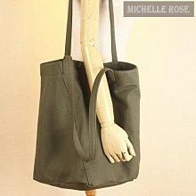 [SLNK160124-2]韓國訂單超百搭純色簡約帆布包休閒單肩手提購物包