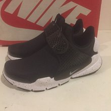 [飛董] Nike Sock Dart 襪套 女鞋 牛巴哥皮 黑白 潑墨 881186 001