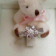花苞造型鑽石戒指